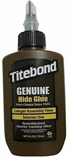 LUTHIER HIDE GLUE, LIQUID FORM, READY TO USE, INSTRUMENT REPAIR!